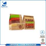 Ecoの友好的で使い捨て可能なパン屋のファースト・フードの紙袋