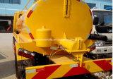 Dongfeng 4X2の糞便の吸引のトラック3000 L糞便の真空のタンク車