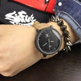 Relógio de pulso famoso do tipo das senhoras feitas sob encomenda dos relógios das mulheres do relógio de quartzo da forma do logotipo H320