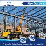 Garage prefabbricato della struttura d'acciaio di montaggio