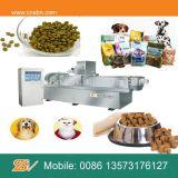 Double boudineuse à vis pour la chaîne de fabrication d'aliments pour chiens