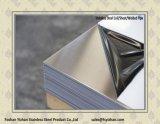 Placa de acero inoxidable para la puerta 2b