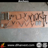 Concreto y Rrefractory Anchorage