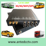 H., 264 HD 1080P Mobile DVR Support GPS Tracking und 3G 4G WiFi HDD