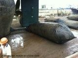 Китай сделал морской резиновый варочный мешок для корабля запуская и нагружая