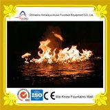 Pulverizador da fonte do incêndio acima da superfície da água