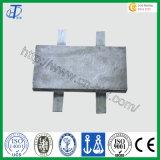 亜鉛合金の犠牲的な陽極のための使用
