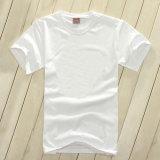 T-shirt pur de mode de tissu de coton de 100%