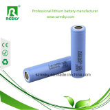 Cellule di batteria dello Li-ione di Icr18650 22p 3.7V 2200mAh per l'indicatore luminoso del LED