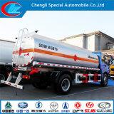 Euro III 2 Eje de aluminio del tanque de combustible del camión de la Capacidad 15cbm