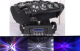 8X10W RGBW 4in1 Disco Efeito Beam Spider Stage Light CREE LED Moving Head Light