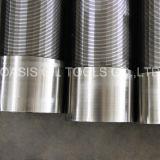 304 cilindros da tubulação da tela de fio da cunha do aço inoxidável