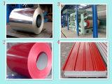 (0.12mm-1.3mm) Le lamiere di acciaio galvanizzate preverniciate/hanno ondulato gli strati di Gi/lamiere di acciaio