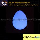 Lâmpada decorativa recarregável da noite do diodo emissor de luz da lâmpada do ovo