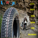 DOT Certified Competitive Motorcycle Tire pour le marché de l'Amérique (3.50-8, 3.50-10)