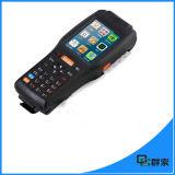 Explorador androide del código de barras de la terminal PDA del teléfono móvil de la pantalla táctil 3G Bluetooth