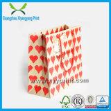 La publicité de l'usine de sac d'emballage de papier fabriqué à la main