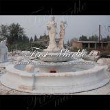 Fontana multicolore Mf-1191 del giardino di pietra di marmo del granito