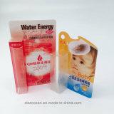 Caixa de dobramento personalizada do animal de estimação desobstruído para o batom com impressão UV