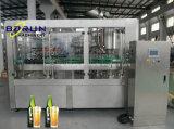 Equipamento do engarrafamento de cerveja do frasco de vidro