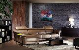 Sofá secional do couro elegante moderno novo da sala de visitas do projeto 2016 (HC8113)