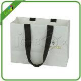 Хозяйственная сумка белой бумаги с ручками