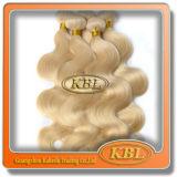 Prolongation blonde de couleur de nouveaux cheveux brésiliens du sentiment 613#