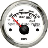 Populaire 52mm Oil Temp Gauge Meter 12V 24V voor Cars Trucks Boats Yachts Easy aan Install