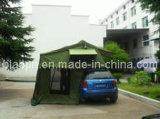 يفرقع إمتداد ذاتيّة فوق سقف خيمة علبيّة مع ملحق
