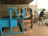 Automtaic réutilisant le plateau d'oeufs de papier de rebut faisant la machine