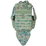 女性によって隠されるタイプ軍隊の防弾ジャケット