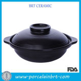 Lid를 가진 최신 Black Kitchenwares Earthen Pot