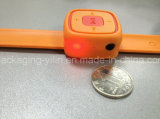 Förderung-Geschenk-Uhr-Form-MiniMP3-Player