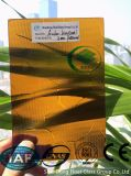세륨, ISO (3-8mm)를 가진 Karatachi 호박색 장식무늬가 든 유리 제품