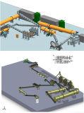 기계를 만드는 암소 똥거름 유기 비료