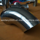 Food Industry를 위한 위생 Stainless Steel Welded 90 Degree Elbow