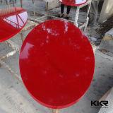 Table de meuble de cuisine en surface solide de qualité supérieure