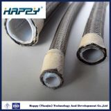 Tuyau hydraulique flexible rayé par PTFE