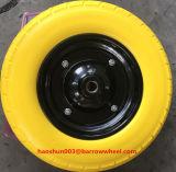 350-8 PU-Rad mit Metallfelge