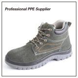 Облегченная обувь безопасности конструкции неподдельной кожи