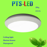 luz de teto do diodo emissor de luz do sensor de movimento de 15W 20W 25W IP65 com MP3