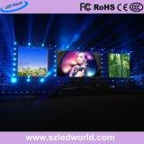 Dell'interno/esterno di P3.91/P4.81/P5.95/P6.25 dell'affitto del LED dello schermo di visualizzazione di cartello per la prestazione della fase
