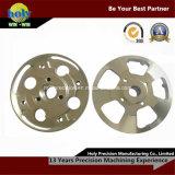 Brass/Aluminum 2017-T6/Machining Part met Electroplating