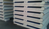 Панель сандвича полиуретана светлого стального цвета Corrugated