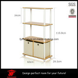 Low Price! Simple Good quality STORAGE Book Wooden shelf