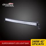 240W 두 배 줄 4X4 Offroad 42inch 크리 사람 LED 표시등 막대