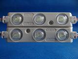 Módulo impermeável elevado do diodo emissor de luz da injeção de Quanlity da iluminação