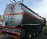 4 Wellen-Öl-Transport-Stahlkraftstoff-Tanker 60, 000 Liter halb Schlussteil-