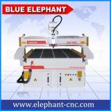 Router de cinzeladura de madeira automático do CNC 3D de Ele 1325, máquina de estaca de madeira para o projeto de madeira da porta