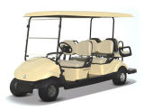 6つのシートの電気ゴルフカート